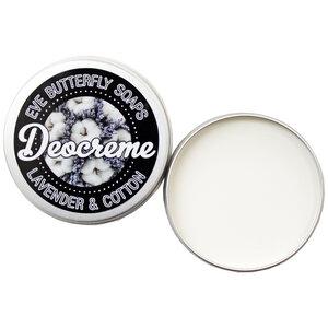 """Deocreme """"Lavender & Cotton"""" - 100% natürlich und vegan - Eve Butterfly Soaps"""