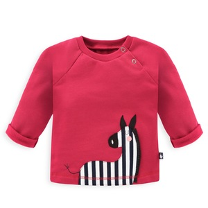 Baby Sweatshirt Zebra - internaht