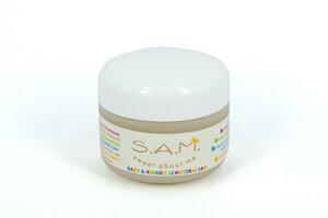 S.A.M. Baby & Kinder Schutzbalsam mit Bio-Mandelöl, parfümfrei - 50ml - S.A.M.