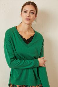 Oversize-Pullover aus Bio-Baumwolle GOTS - LANIUS