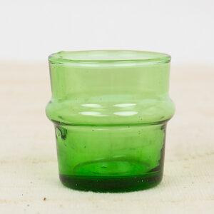 Marokkanisches Glas, Teeglas aus recycelten Weinflaschen - Afroart