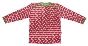 Langarm-Shirt aus Single Jersey mit Druck  - loud + proud