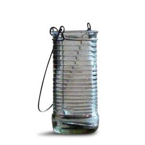 Teelichthalter 'Limonadenlicht' - aus alter Flasche - AfriCraft