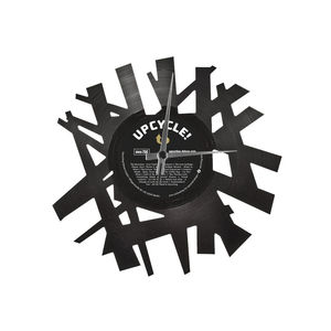 Schallplatten-Wanduhr aus Vinyl - Big Bang - DISC'O'CLOCK