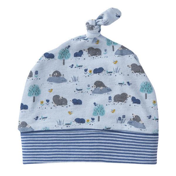 e77ce156a7 People Wear Organic - Baby u. Kinder Mütze blau u. rosa bedruckt Bio  Baumwolle People Wear Organic | Avocadostore