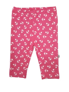 Mädchen Leggings pink allover Bio Baumwolle EBi & EBi - EBi & EBi