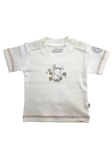 Baby T-Shirt weiß Bio Baumwolle EBi & EBi - EBi & EBi