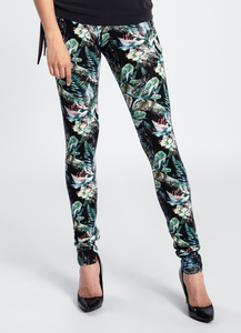LASALINA - Leggings NEO Flower  - LASALINA