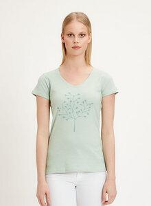 T-Shirt aus Bio-Baumwolle mit Baum-Motiv - ORGANICATION