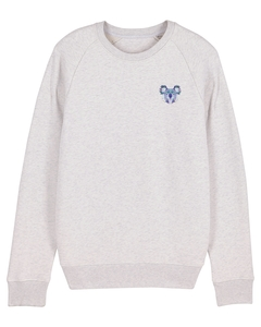 "Herren Sweatshirt aus Bio-Baumwolle ""Koala"" - University of Soul"