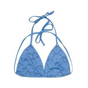 Eco Triangle Oberteil Bikini Blau - bleed