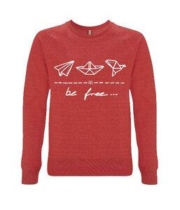 "be free – Unisex Sweatshirt ""colors"" - DENK.MAL Clothing"