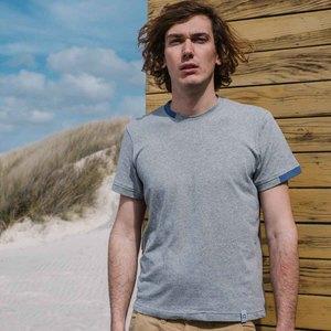 Upgecyceltes T-Shirt aus Baumwolle Morandi - Rifò - Circular Fashion