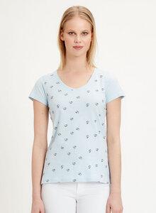 T-Shirt aus Bio-Baumwolle mit Löwenzahn-Print  - ORGANICATION