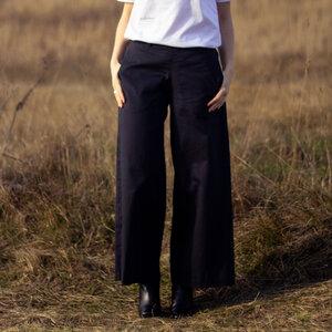 gerade Hose aus Bio-Baumwolle - Natascha von Hirschhausen