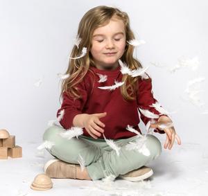 Oh-So Cosy Sweater -  Kinder Pulli aus weichster Bio Baumwolle - Orbasics