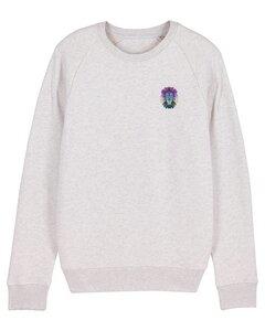 "Herren Sweatshirt aus Bio-Baumwolle ""Löwe"" - University of Soul"