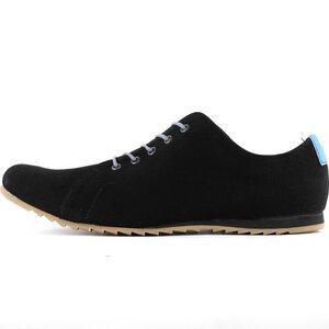 '53 Black + Azul Baumwoll Sneaker  - SORBAS
