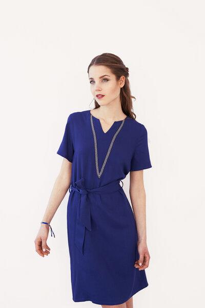 Me May Blaues Kleid Columbine Aus Viskose Avocadostore