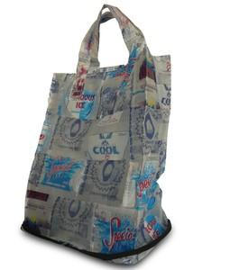 Faltbare Einkaufstasche Wasserträger aus Wasserpäckchen  - Trashy Bags