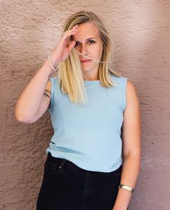 Damen Top | RagTop | eis blau - Degree Clothing