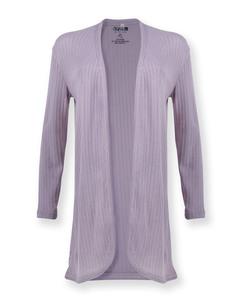 Frauen Cardigan | Binary | grau - Degree Clothing