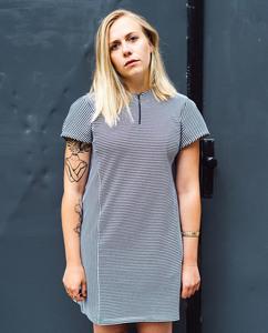 Drauen Kleid | Blockchain | gestrieft - Degree Clothing