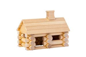 Holzbaukasten mit 35 Teilen ohne Chemikalien und Farben. - Varis Toys