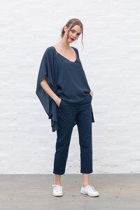 Blue Capri pants - ETICLO'