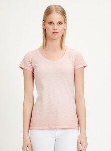 Garment Dyed T-Shirt aus Bio Baumwolle - ORGANICATION
