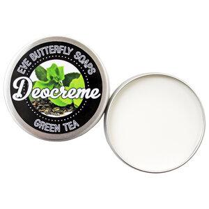 """Deocreme """"Green Tea"""" - 100% natürlich und vegan - Eve Butterfly Soaps"""