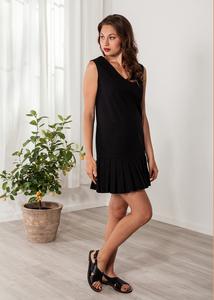 05753266eba9e Kurzes Kleid schwarz Cocktailkleid Baumwolle - SinWeaver alternative fashion