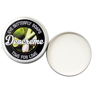 "Deocreme ""Time for Lime"" - 100% natürlich und vegan - Eve Butterfly Soaps"
