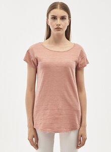 T-Shirt aus Bio-Baumwolle mit Jacquardmuster - ORGANICATION