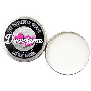 """Deocreme """"Little Angel"""" - 100% natürlich und vegan - Eve Butterfly Soaps"""