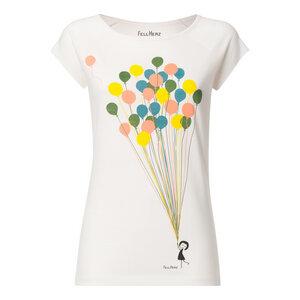 Damen T-Shirt Balloons Bio Fair - FellHerz