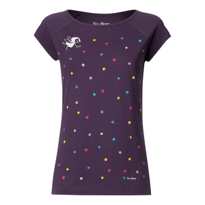 Damen T-Shirt Konfetti Bio Fair - FellHerz