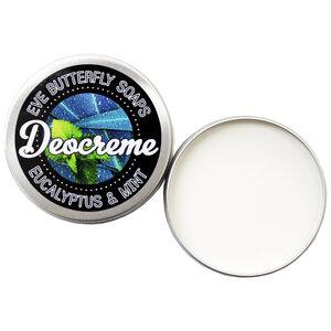 "Deocreme ""Eucalyptus & Mint"" - 100% natürlich und vegan - Eve Butterfly Soaps"