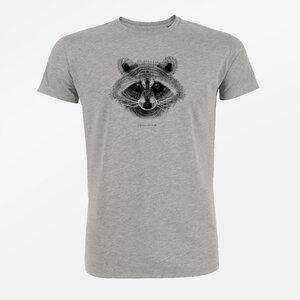 T-Shirt Guide Animal Raccoon - GreenBomb