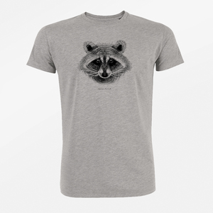 T-Shirt Guide Animal Raccoon - GreenBomb