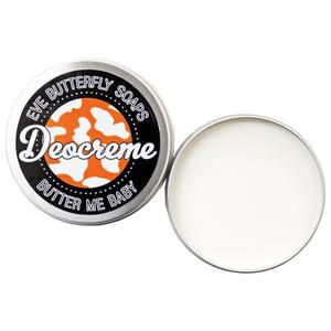 """Deocreme """"Butter me Baby"""" - 100% natürlich und vegan - Eve Butterfly Soaps"""