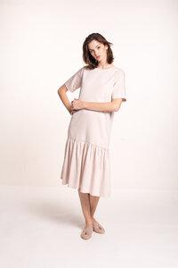 Kleid mit tiefer Taille - Mila.Vert
