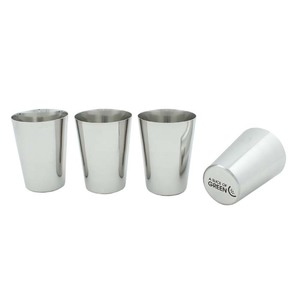 Edelstahl Becher 4er Set - A Slice of Green