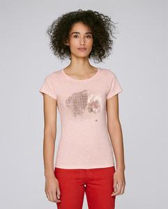 Basic T-Shirt mit Motiv / Rabbit Wunderland - Kultgut