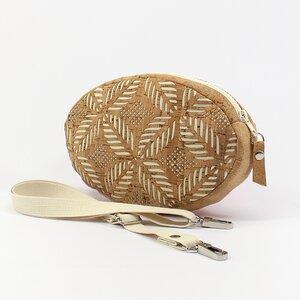 Gürteltasche / Umhängetasche aus Kork - verschiedene Muster - Belaine Manufaktur