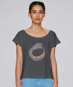 Oversize T-Shirt  mit Motiv / CIRCLE - Kultgut