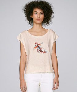Oversize T-Shirt  mit Motiv / KOI - Kultgut