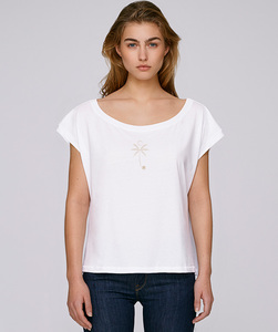 Oversize T-Shirt  mit Motiv / PALM - Kultgut