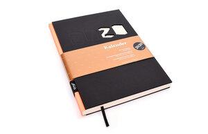 Kalender 2020 - Schwarz, DIN A5, Handmade - tyyp