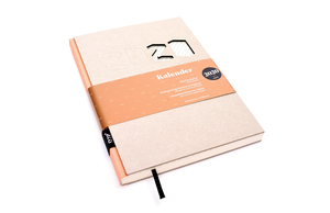 Kalender 2020 - Grau, DIN A5, Handmade - tyyp